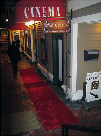 The Brattle Film Foundation's eighth annual Oscar party was held at the Brattle Theater on Feb. 24. Brattle members walked the red carpet to enjoy hors d'oeuvres, an open bar, and silent auction during the pre-party fundraiser.