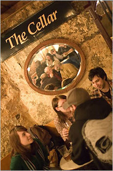 7. The Cellar 991 Massachusetts Ave., Cambridge 'You've probably walked by this bar in Cambridge and had no idea it was even there -- very low key. That's why I go there. Go and see Debbie who bartends on Sundays for some of the best over the bar banter in town.'
