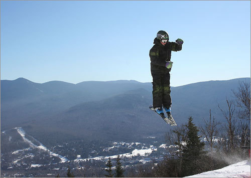 Cole, 12 years old, performed a 720 in Waterville Valley, N.H.