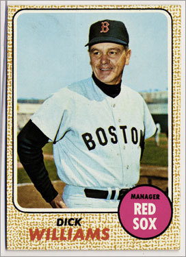 2. Dick Williams 1967-69 477 games Finished 1st, 4th, *3d Williams's Impossible Dream Red Sox of 1967 and his prediction of 'we'll win more than we lose' started the era of modern baseball in Boston.