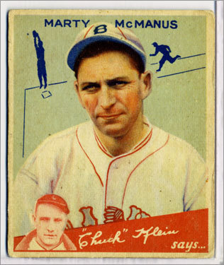 34. Marty McManus 1932-33 248 games Finished *8th, 7th McManus took over for Collins after 55 games in '32 and in his only full season in '33 won 63 games. McManus was fired by Yawkey before the '34 season.