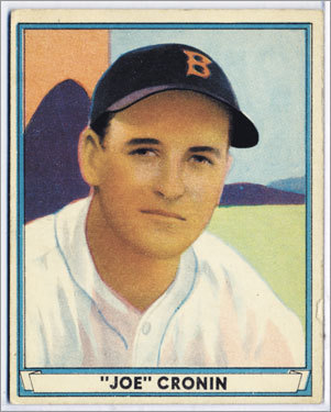 7. Joe Cronin 1935-47 2,007 games Finished 4th, 6th, 5th, 2d, 2d, 4th, 2d, 2d, 7th, 4th, 7th, 1st, 3d Managed the most games in Red Sox history, but lost his only World Series, in 1946, when the Sox won 104 regular-season games and should have won it all.