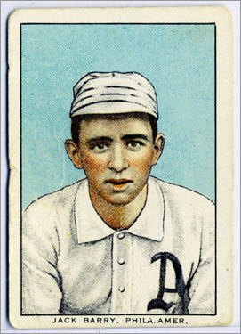 17. Jack Barry 1917 157 games Finished 2d Had one very good year as player-manager after winning as a player in 1915 and '16. The longtime Holy Cross baseball coach went off to war in 1918 and had to relinquish his managing duties.