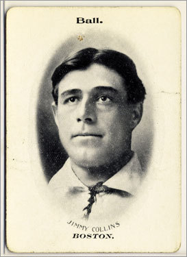 4. Jimmy Collins 1901-06 842 games Finished 2d, 3d, 1st, 1st, 4th, *8th He won the first World Series vs. the Pirates with superb strategy in the clinching Game 8. He probably would have won back-to-back had the 1904 World Series been played.