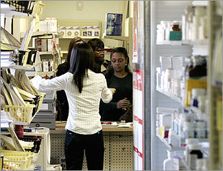 Pharmacy aides