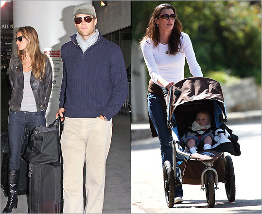 gisele bundchen tom brady and son. Gisele Bundchen and Tom Brady