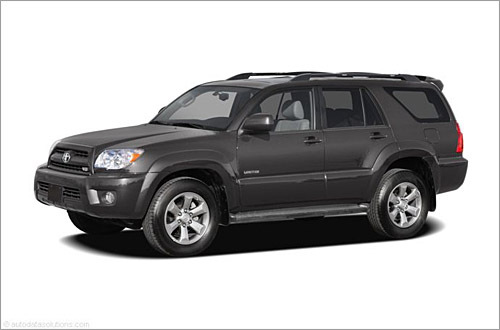 Toyota 4Runner Base MSRP: $28,015 - $34,700 Toyota last redesigned its midsize 4Runner SUV for 2003, making a V-8 engine available for the first time. At that time, Toyota wanted to make the truck-based 4Runner larger, roomier and more fuel-efficient, yet still retain its offroad capability. After a drivetrain update in 2005 and a face-lift for 2006, the 2008 4Runner is largely unchanged. The 4Runner steers easily and with a reasonably good feel, which is a cut above the truck-based SUV norm. The Sport Edition feels a bit tauter, and its ride quality is a tad stiffer. (Cars.com)