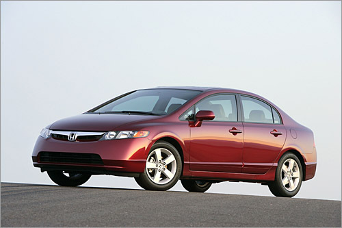 Honda Civic Base MSRP: $14,810 - $29,500 There's nothing new to the Civic lineup besides optional leather and a factory-tuned Mugen Si sedan, which like the S2000 CR, isn't notably quicker than bone stock. Honda didn't need to add much, considering the spread of coupes, sedans, a hybrid, and a natural gas model (the only natural gas car in the United States that's not just for fleet sales). All in all, the Civic manages to be sporty, thrifty, and eco-friendly in one fell swoop. The United States doesn't get the radical Deep Space Nine hatchback that Europe enjoys, but the US model remains a segment leader. (Honda)