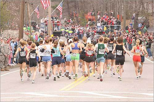 Women racers set the pace.