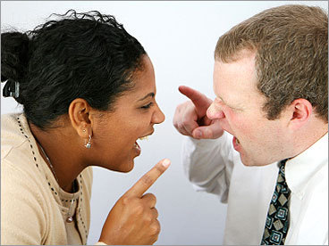 Have you recently had a conflict at your job? How do you deal with co-workers who create conflict? Share your thoughts on our message board .