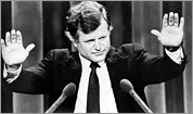 Edward Kennedy, through the years