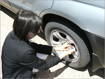 Over-inflate your tires