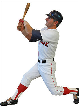 Sculpture of Carl Yastrzemski