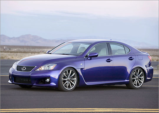 The 2008 IS F is based on Lexus's entry-level model, the IS, which is a rear-drive subcompact four-door sedan that is anything but base.