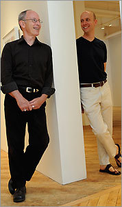 Bernard Toale (left) and Joseph Carroll