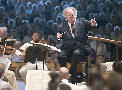 James Levine conducts the BSO