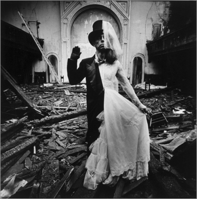 'Untitled (Bride and Groom)' by Arthur Tress, 1970.
