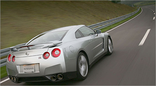 The Nissan GT-R is the PlayStation dream ride come to life, finally in the hands of the US market. Its multifunction LCD display was fittingly designed by the makers of the video game Gran Turismo.