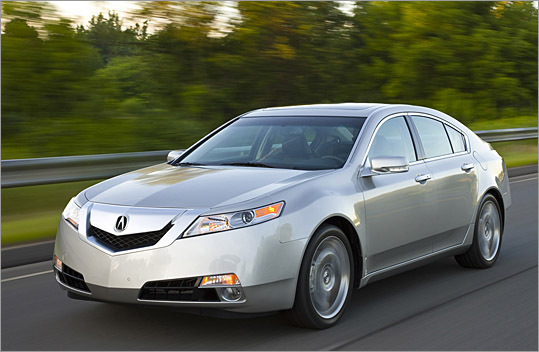 Acura TL improved on all counts - The Boston Globe