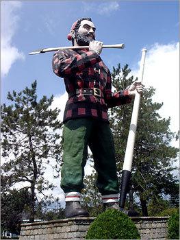 Paul Bunyan Statue - Bangor, Maine