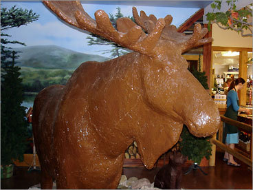 Lenny the Chocolate Moose - Scarborough, Maine