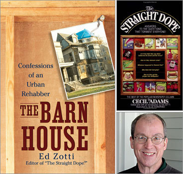 Still thinking of taking on that big renovation project, but have more questions before you take the leap? Then ask Ed Zotti more about his experiences yourself. Ed will chat with Boston.com readers on Wednesday, Sept. 10, at noon . Join in and find out what other horrors lurked beneath his hopes for a flawless rehab. Need some more inspiration that not all reclamation projects are doomed? Check our Boston.com reader renovation before-and-after photos and marvel at their handiwork, or show off the fruits of your labor and submit your own renovation photos .