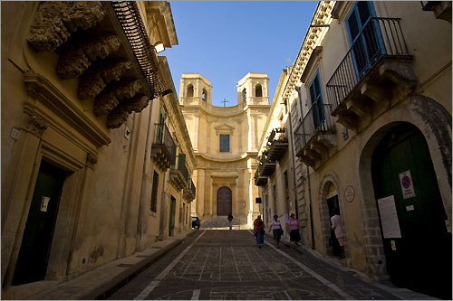 Baroque architecture at its higest form in the southern Sicilian town of Noto.