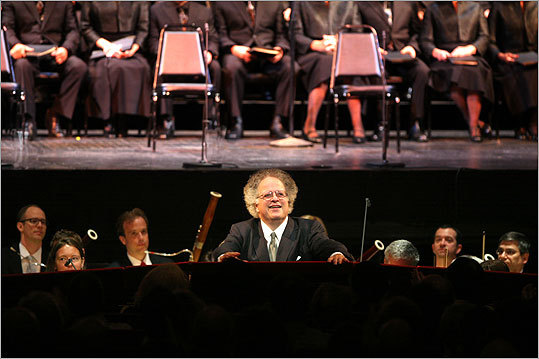 James Levine conducted the Verdi Requiem at the Metropolitan Opera House in New York City on Thursday.