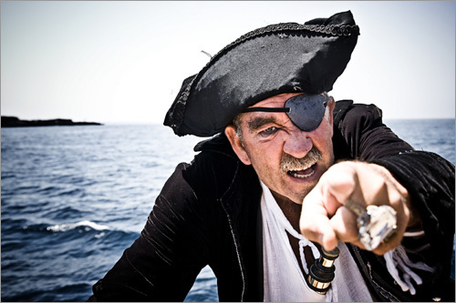 Avast ye, matey! In honor of International Talk Like a Pirate Day, invented in 1995 by John Baur and Mark Summers, we take a moment to reflect on some of history's most conniving pirates. Don't be a wayward minnow, now -- come walk the plank!