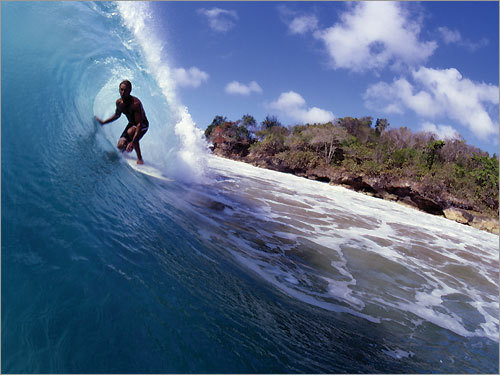 Some of the best surfing in the region can be found on the beaches of Rincon.