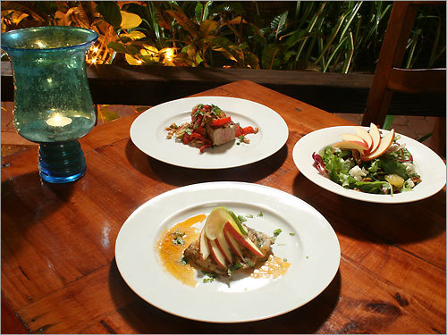 The Tapas Bar at Casa Islena, Rincon, was awarded the Best Food and Beverage Award from the Puerto Rico Tourism Co. The environmentally conscious restaurant uses organic ingredients when possible, filters water rather than buying bottled water, and makes sure that seafood has been sustainably harvested.