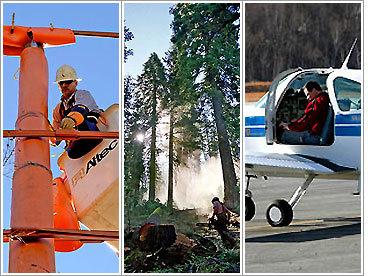 Top 10 most dangerous jobs