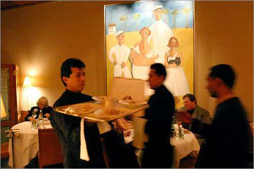 Le Bernardin earned acclaim shortly after opening in 1986.