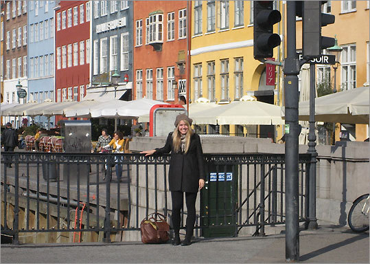 'I fell in love with ... the charm of the cycling, cafe-loving, fashion-forward, liberal culture.' BC junior Lauren Lynch, on choosing Copenhagen.