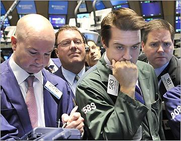 The Dow's biggest point declines