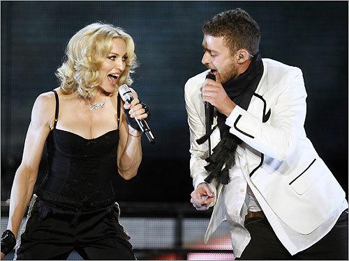 Madonna, Justin Timberlake