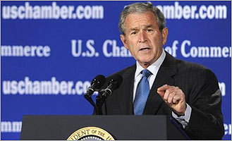 Bush: Credit thaw 'to take awhile'