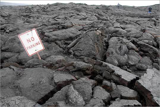 Chain of Craters Road in Hawaii