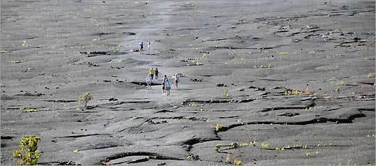 Hawaii's Kilauea crater