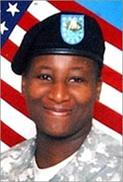 Specialist Christine M. Ndururi, 21, Dracut Ndururi died of an unspecified illness Nov. 6, 2007, in Camp Arifjan, Kuwait, a US military base supporting the Iraq war. Ndururi was assigned to the Fourth Squadron, Third Armored Cavalry Regiment at Fort Hood, Texas. The Eagle-Tribune quoted her father, Wilson Wachira, as saying that Ndururi joined the reserves while a senior at Dracut High School. The family is from Kenya.