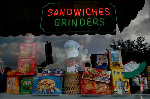 Sandwiches as well as a lunch buffet are offered at Mom & Rico Daniele's Specialty Market in Springfield's South End.