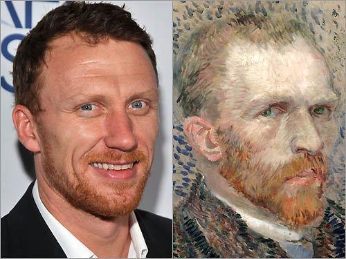 Kevin McKidd and Vincent Van Gogh