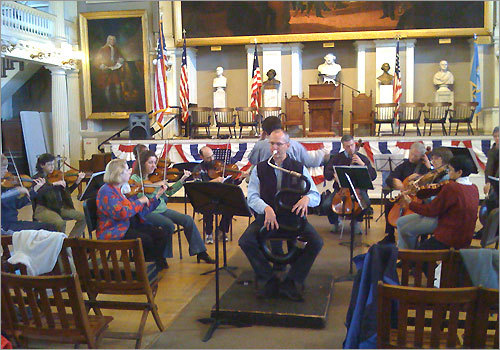Boston Classical Orchestra in Faneuil Hall