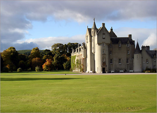 The Macpherson -Grants have lived at Ballindalloch Castle since 1546.
