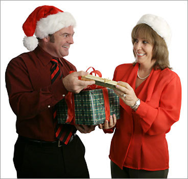 Your turn ... Have you ever received a peculiar gift from a co-worker or boss? How did you react? Share your story on our discussion board.