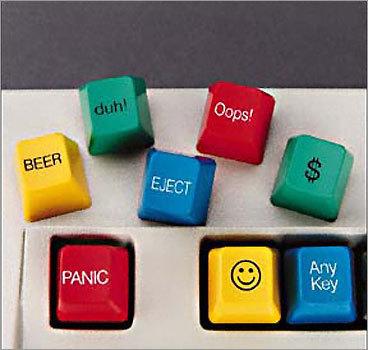 Computer key caps