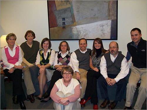 Stephanie E. Zywien sent in this group photo of a Vestival celebration at Devine, Millimet & Branch P.A. in Andover. 'We held a sweater Vestival in honor of the most versatile piece of clothing there is!' explained Zywien. 'What's better than a cozy sweater without sleeves that provides comfort and core warmth? All in all, a pretty good turn out for our office.'