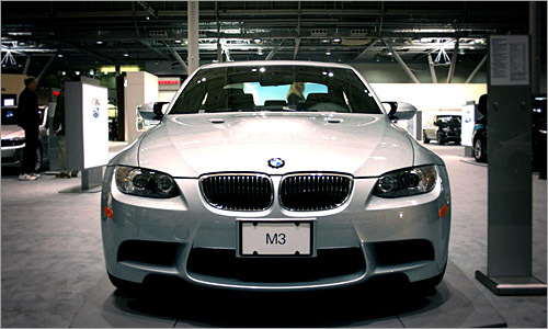 The mighty M3 catches Tobias' eyes.