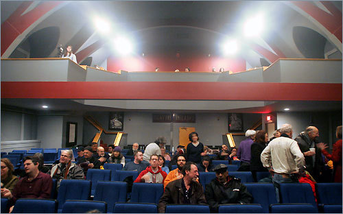 Brattle Theater Take a break from chain movie theaters and go see a classic film or indie at the intimate Brattle Theater in Harvard Square. Sit close in the cozy venue and rest your head on that special someone's shoulder.