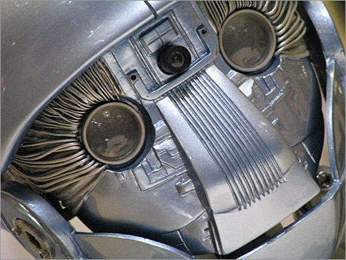 The lifeless eyes of the Ford Motor Company - no, sorry, that's just their robot.